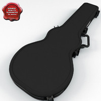 Electric Guitar Case V2