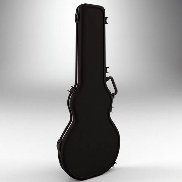 3d electric guitar case v2 model - Electric Guitar Case V2... by 3d_molier