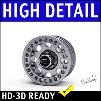 3d truck wheel rim suv model