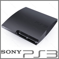 3d sony playstation 3 slim