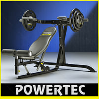 powertec l-mp10 multi press 3d 3ds