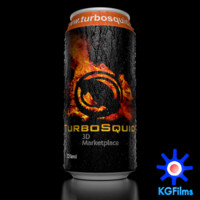 Energy Drink with Condensation