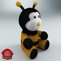 toy little bee c4d