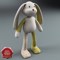 toy rabbit 3d 3ds