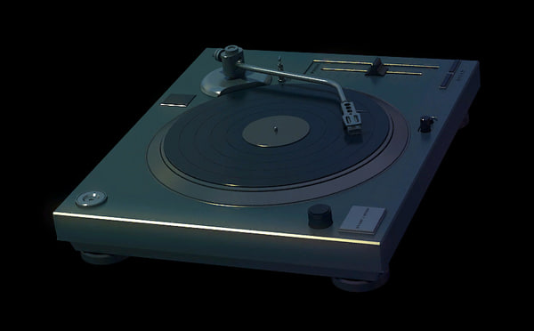 maya turntable dj deck - Turntable... by DeepFriedSquid