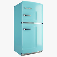 3d big chill fridge model