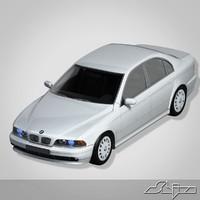 3d model bmw 5 sedan