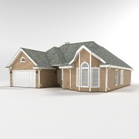 cottage siding 3d max