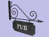 Enseigne Pub