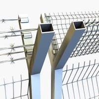 3dsmax variable wired fence