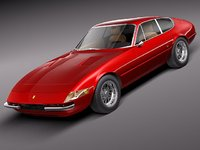3ds ferrari daytona coupe sport