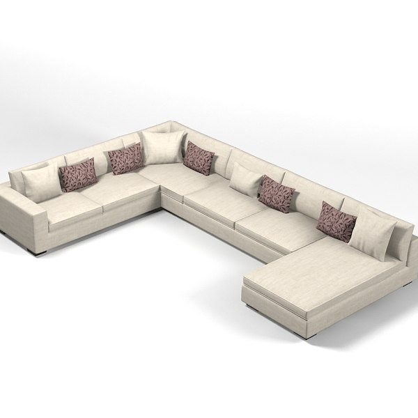Corner Sofa Bed Contemporary: Obj Modern Contemporary Corner