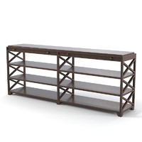 etagere classic traditional 3d max