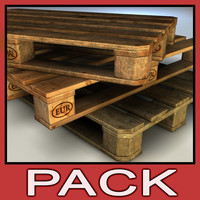 Wood Pallet pack