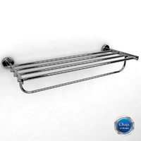 towel rack 3d max