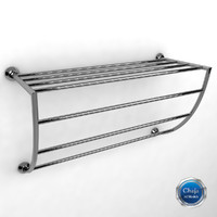 3d model towel rack