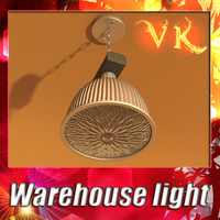 warehouse light 3d model