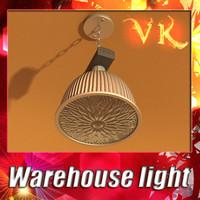 warehouse light 3d model