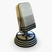 Microphone (low poly)