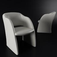 realistic armchair arte-m 3d model