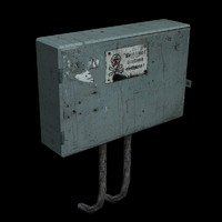 3ds max electrical box