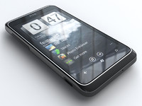 3d htc 7 trophy mobile phone
