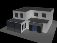 3d manufacturing plant model