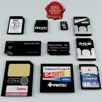 Memory Cards Collection