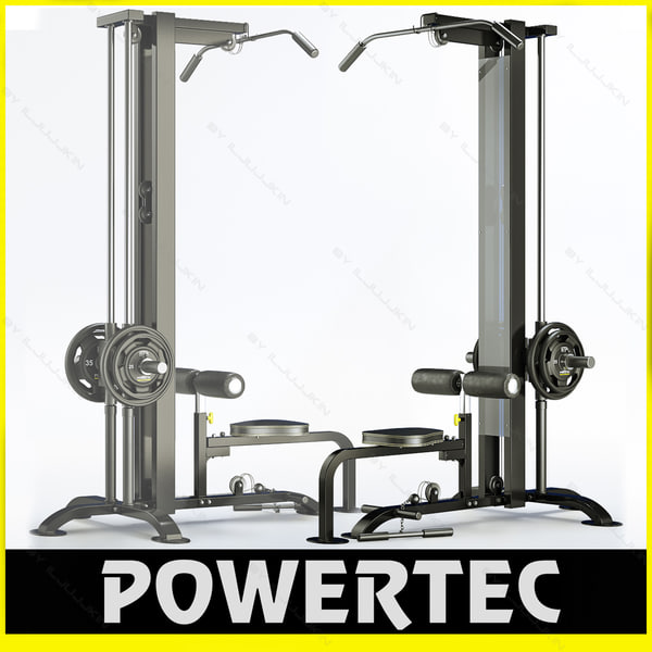 powertec lat machine review