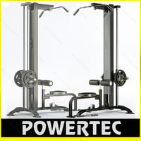3d powertec p-lm10 lat machine