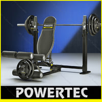 Powertec WB-LLA10 leg lift