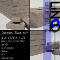 Brick, Standard Size 002