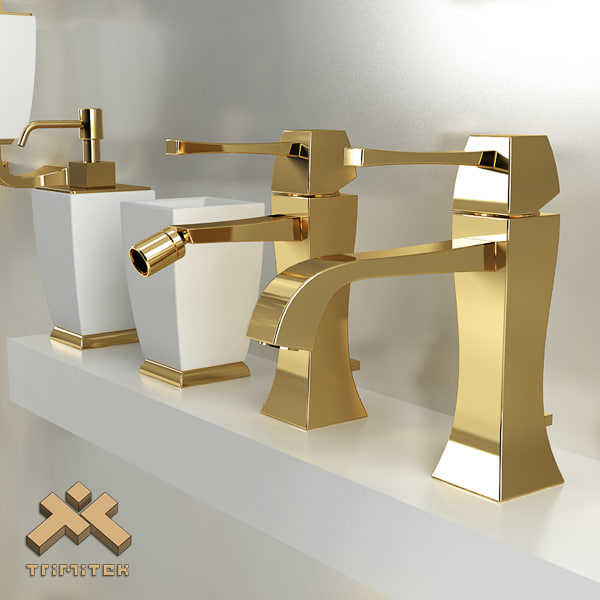 3d model bathroom accessories gessi mimi for 3d bathroom accessories