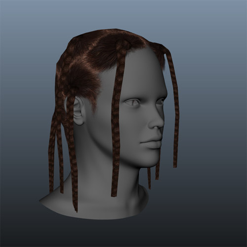 Searched 3d Models For Hair Wavy