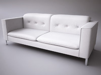 3d model calligaris grace romantic sofa