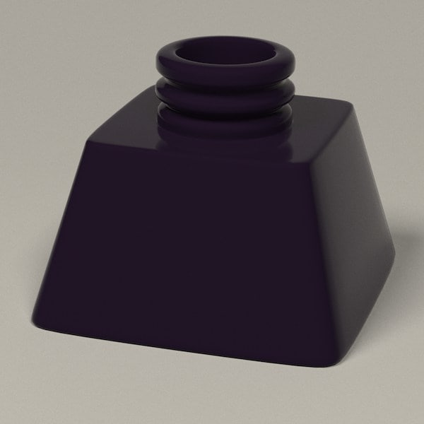 3d model ink pot inkpot - inkpots... by bescec