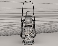3ds max kerosene lamp