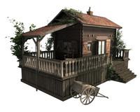 home wood 3d model