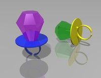ring pop candy 3d 3ds
