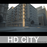 HD City Untextured.