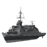 3d c4d battle ship