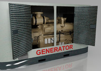 Diesel Generator With Canopy