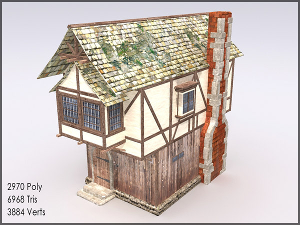 Medieval town building games 3d model for 3d house building games online