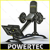 3d powertec p-cls10 compact leg