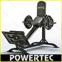 Powertec P-CLS10 compact leg sled