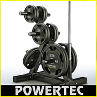 powertec wb-dr10 weight rack c4d