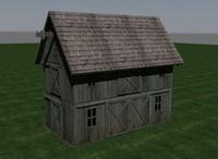 3d model barn doors