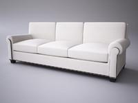 3dsmax baker sofa