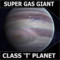 Purple Gas Giant