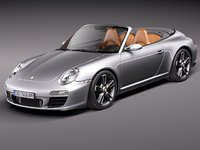 3d porsche 911 carrera 997 model